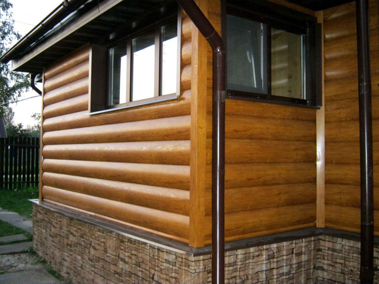 Дизайн отделки домов сайдингом под бревно и цены